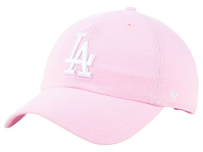 Los Angeles Dodgers '47 MLB Pink '47 CLEAN UP Cap
