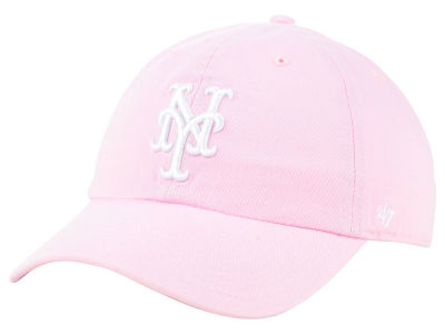 New York Mets '47 MLB Pink '47 CLEAN UP Cap