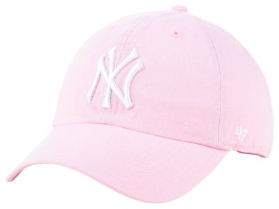 New York Yankees '47 MLB Pink '47 CLEAN UP Cap