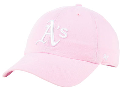 Oakland Athletics '47 MLB Pink '47 CLEAN UP Cap