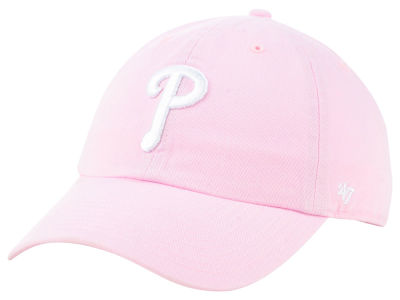 Philadelphia Phillies '47 MLB Pink '47 CLEAN UP Cap