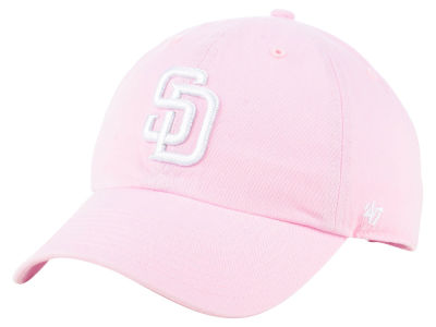 San Diego Padres '47 MLB Pink '47 CLEAN UP Cap