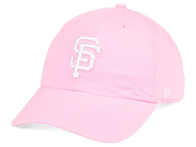 San Francisco Giants '47 MLB Pink '47 CLEAN UP Cap
