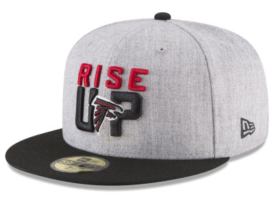 Atlanta Falcons New Era 2018 NFL Draft 59FIFTY Cap