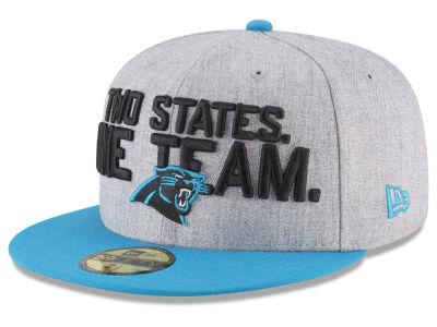 Carolina Panthers New Era 2018 NFL Draft 59FIFTY Cap