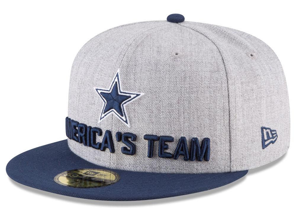 146f6b82f Dallas Cowboys New Era 2018 NFL Draft 59FIFTY Cap