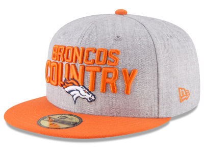 Denver Broncos New Era 2018 NFL Draft 59FIFTY Cap