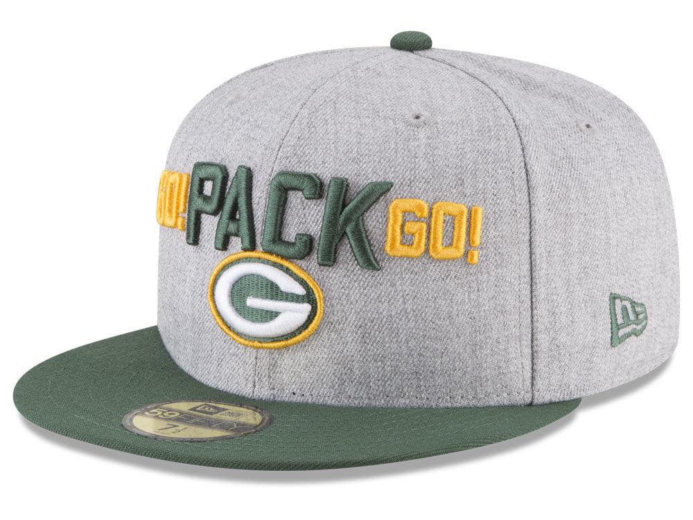 Green Bay Packers New Era 2018 NFL Draft 59FIFTY Cap  0b20c2906