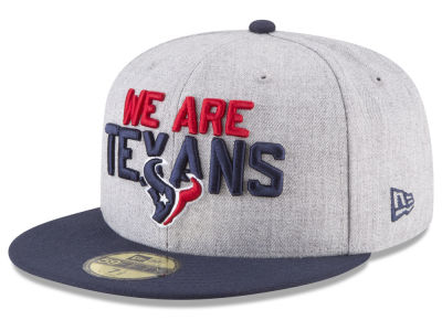 Houston Texans New Era 2018 NFL Draft 59FIFTY Cap