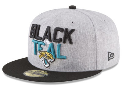 Jacksonville Jaguars New Era 2018 NFL Draft 59FIFTY Cap