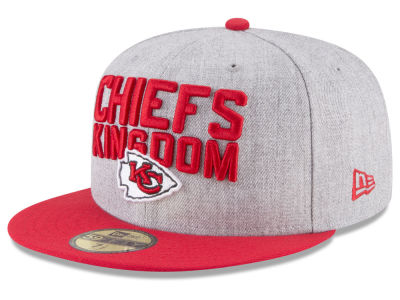 Kansas City Chiefs New Era 2018 NFL Draft 59FIFTY Cap