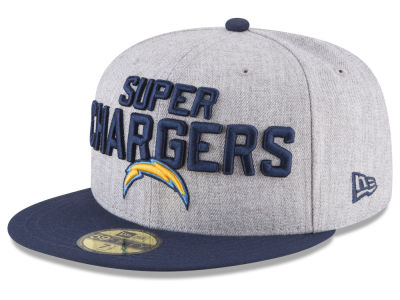 Los Angeles Chargers New Era 2018 NFL Draft 59FIFTY Cap