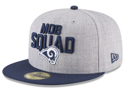 Los Angeles Rams New Era 2018 NFL Draft 59FIFTY Cap