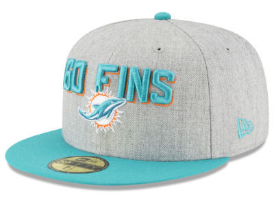 Miami Dolphins New Era 2018 NFL Draft 59FIFTY Cap