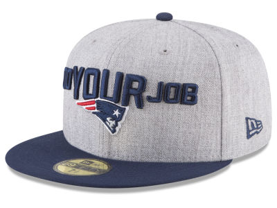 New England Patriots New Era 2018 NFL Draft 59FIFTY Cap