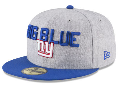 New York Giants New Era 2018 NFL Draft 59FIFTY Cap