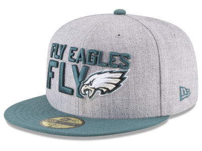 Philadelphia Eagles New Era 2018 NFL Draft 59FIFTY Cap