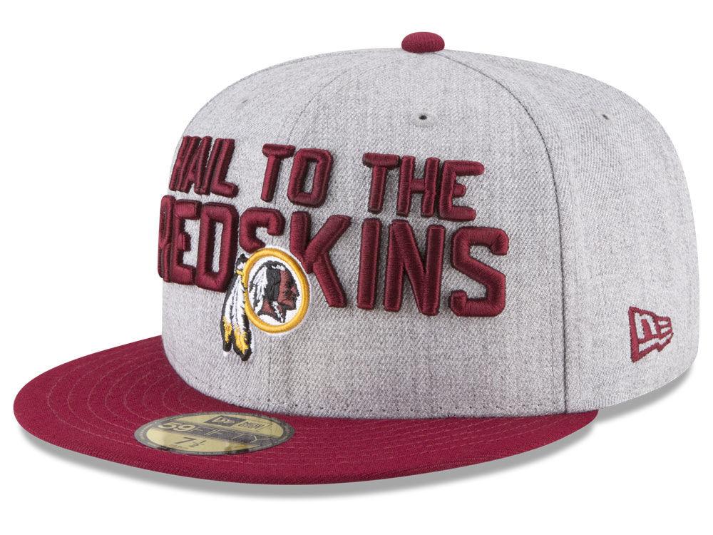 Washington Redskins New Era 2018 NFL Draft 59FIFTY Cap  aaeb0aebc