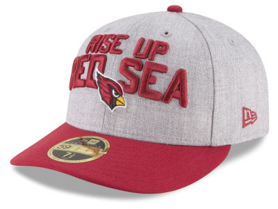 Arizona Cardinals New Era 2018 NFL Draft Low Profile 59FIFTY Cap