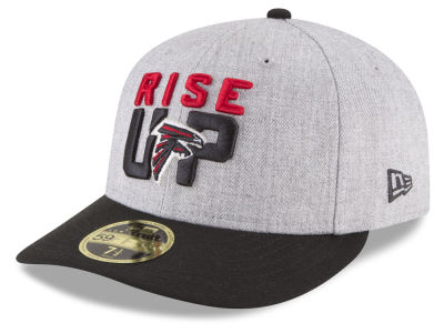 Atlanta Falcons New Era 2018 NFL Draft Low Profile 59FIFTY Cap