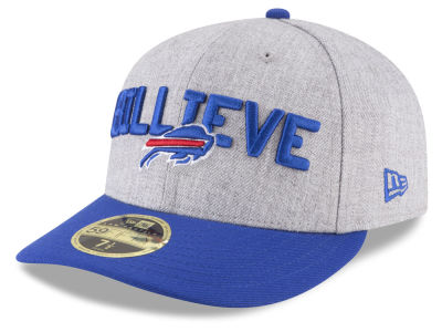 Buffalo Bills New Era 2018 NFL Draft Low Profile 59FIFTY Cap
