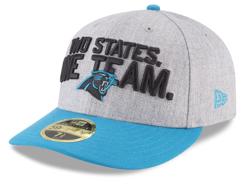 check out 97f9c 7e415 ... discount code for carolina panthers new era 2018 nfl draft low profile  59fifty cap f09af 09308