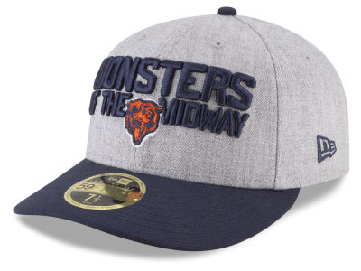 Chicago Bears New Era 2018 NFL Draft Low Profile 59FIFTY Cap