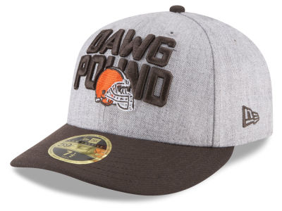 Cleveland Browns New Era 2018 NFL Draft Low Profile 59FIFTY Cap
