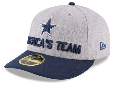 Dallas Cowboys New Era 2018 NFL Draft Low Profile 59FIFTY Cap