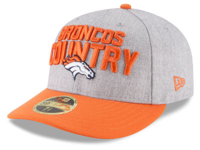 Denver Broncos New Era 2018 NFL Draft Low Profile 59FIFTY Cap
