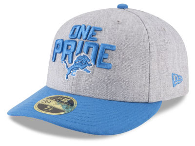 Detroit Lions New Era 2018 NFL Draft Low Profile 59FIFTY Cap