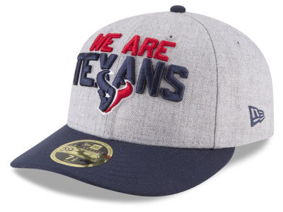 Houston Texans New Era 2018 NFL Draft Low Profile 59FIFTY Cap