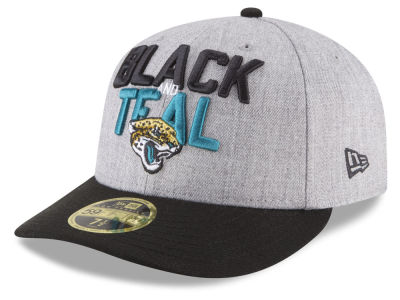 Jacksonville Jaguars New Era 2018 NFL Draft Low Profile 59FIFTY Cap