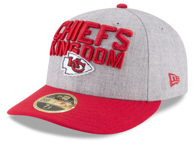 Kansas City Chiefs New Era 2018 NFL Draft Low Profile 59FIFTY Cap