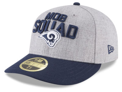 Los Angeles Rams New Era 2018 NFL Draft Low Profile 59FIFTY Cap