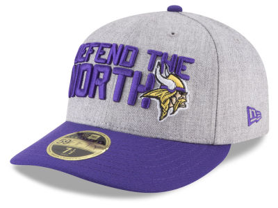 Minnesota Vikings New Era 2018 NFL Draft Low Profile 59FIFTY Cap