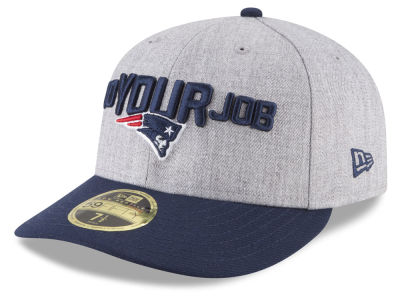 New England Patriots New Era 2018 NFL Draft Low Profile 59FIFTY Cap