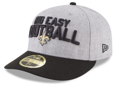 New Orleans Saints New Era 2018 NFL Draft Low Profile 59FIFTY Cap