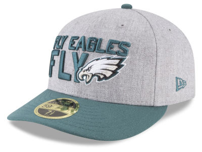another chance 62a20 d1164 Philadelphia Eagles New Era 2018 NFL Draft Low Profile 59FIFTY Cap
