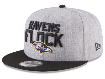 Baltimore Ravens New Era 2018 NFL Draft 9FIFTY Snapback Cap