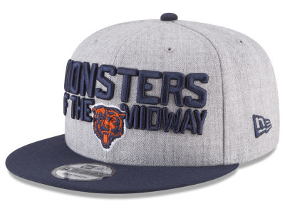 Chicago Bears New Era 2018 NFL Draft 9FIFTY Snapback Cap