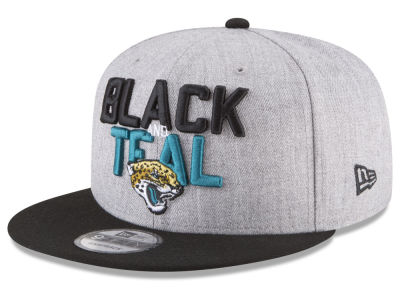 Jacksonville Jaguars New Era 2018 NFL Draft 9FIFTY Snapback Cap