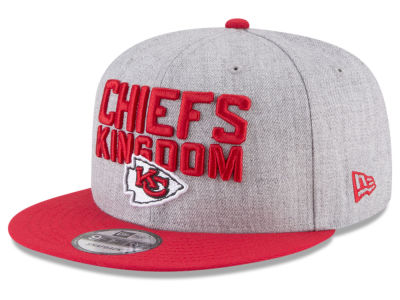 Kansas City Chiefs New Era 2018 NFL Draft 9FIFTY Snapback Cap