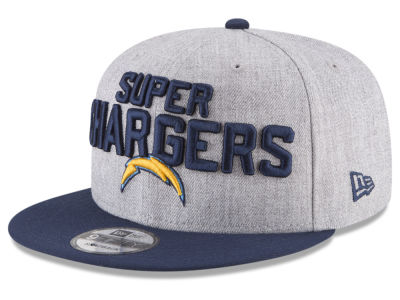 Los Angeles Chargers New Era 2018 NFL Draft 9FIFTY Snapback Cap