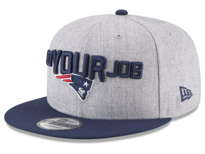 New England Patriots New Era 2018 NFL Draft 9FIFTY Snapback Cap