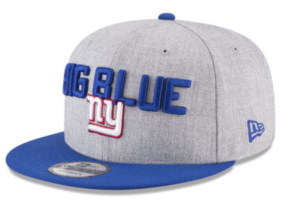 New York Giants New Era 2018 NFL Draft 9FIFTY Snapback Cap