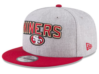 San Francisco 49ers New Era 2018 NFL Draft 9FIFTY Snapback Cap