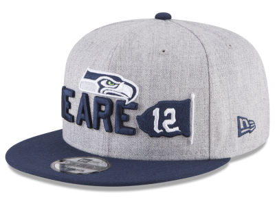 Seattle Seahawks New Era 2018 NFL Draft 9FIFTY Snapback Cap