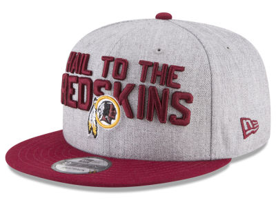 Washington Redskins New Era 2018 NFL Draft 9FIFTY Snapback Cap
