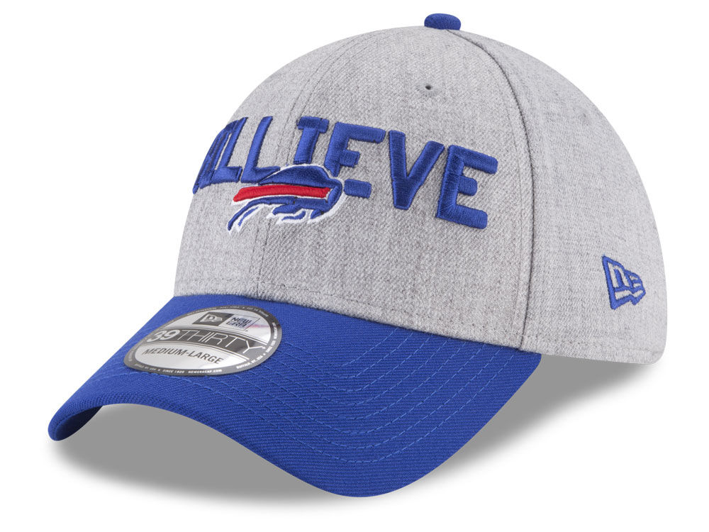 b132470601f Buffalo Bills New Era 2018 NFL Draft 39THIRTY Cap